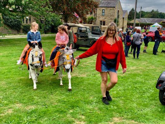 Donkey rides at Norwood Green Summer Fete 2021